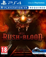 Sony Until Dawn: Rush of Blood, PlayStation VR Basic PlayStation 4 videogioco