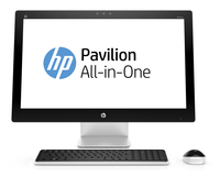 "HP Pavilion 27-n114ns 2.8GHz i7-6700T 27"" 1920 x 1080Pixel Bianco PC All-in-one"