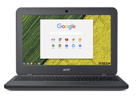 "Acer Chromebook 11 C731T-C96J 1.6GHz N3060 11.6"" 1366 x 768Pixel Touch screen Grigio Chromebook"