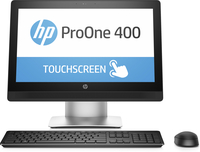 "HP ProOne 400 G2 3.4GHz i7-6700 20"" 1600 x 900Pixel Touch screen Nero, Argento"