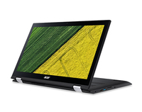 "Acer Spin SP315-51-3684 2.3GHz i3-6100U 15.6"" 1920 x 1080Pixel Touch screen Nero Ibrido (2 in 1)"