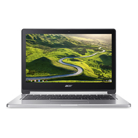 "Acer Chromebook CB5-312T-K8V3 2.1GHz M8173C 13.3"" 1920 x 1080Pixel Touch screen Nero, Argento Chromebook"