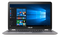 "ASUS VivoBook Flip TP501UB-BS71T-CB 2.5GHz i7-6500U 15.6"" 1920 x 1080Pixel Touch screen Grigio Ibrido (2 in 1) notebook/portatile"