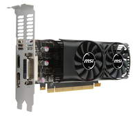 GEFORCE MSI GTX 1050TI  4GT LP 4GB DDR5