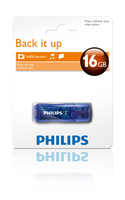 Philips FM32FD35B/27 16GB USB 2.0 Tipo-A Blu unità flash USB