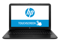 "HP 15-af148ca 2.2GHz A8-7410 15.6"" 1366 x 768Pixel Touch screen Nero Computer portatile"