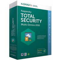 Kaspersky Lab Total Security Multi-Device 2016 Base license 4utente(i) 1anno/i ITA