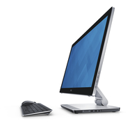 "DELL Inspiron 24 2.6GHz i7-6700HQ 23.8"" 1920 x 1080Pixel Touch screen Nero, Argento PC All-in-one"