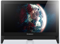 "Lenovo IdeaCentre C20-00 1.6GHz J3060 19.5"" 1920 x 1080Pixel Touch screen Nero PC All-in-one"