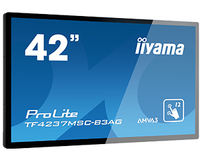 "iiyama TF4237MSC-B3AG Digital signage flat panel 42"" LED Full HD Nero signage display"