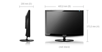 Samsung 2033SW monitor piatto per PC