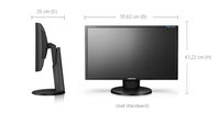 Samsung 2343BW monitor piatto per PC