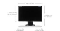 Samsung 2243BW monitor piatto per PC