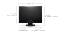 "Samsung 225MD 22"" monitor piatto per PC"