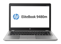 "HP EliteBook Folio 9480m 2GHz i5-4310U 14"" 1600 x 900Pixel Argento Ultrabook"