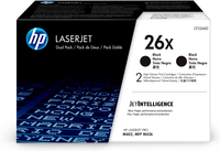 HP 26X Original Black 2 pc(s)