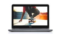 "DELL Inspiron 3168 1.6GHz N3710 11.6"" 1366 x 768Pixel Touch screen Nero, Grigio Ibrido (2 in 1)"
