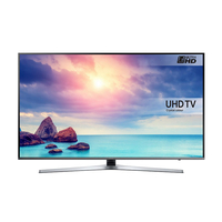 "Samsung UE49KU6450 49"" 4K Ultra HD Smart TV Wi-Fi Argento, Titanio LED TV"