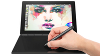 "Lenovo Yoga Book 1.44GHz x5-Z8550 10.1"" 1920 x 1080Pixel Touch screen 3G 4G Nero Ibrido (2 in 1)"