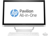 "HP Pavilion 27-a230nd 2.4GHz i5-7400T 27"" 1920 x 1080Pixel Bianco PC All-in-one"