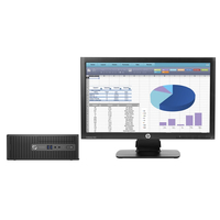HP ProDesk 400 G3 SFF + ProDisplay P202 3.2GHz i5-6500 SFF Nero PC