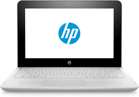 "HP x360 11-ab004nf 1.6GHz N3060 11.6"" 1366 x 768Pixel Touch screen Bianco Ibrido (2 in 1)"