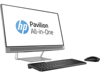 "HP Pavilion 24-b123ns 2.8GHz i7-6700T 23.8"" 1920 x 1080Pixel Touch screen Argento, Bianco PC All-in-one"