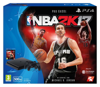 Sony PlayStation 4, NBA 2K17 500GB Wi-Fi Nero