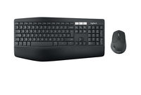 Logitech MK850 RF Wireless + Bluetooth QWERTY Spagnolo Nero tastiera