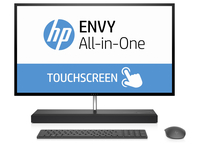 "HP ENVY 27-b100nd 2.4GHz i5-7400T 27"" 2560 x 1440Pixel Touch screen Grigio PC All-in-one"