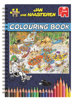 Jan van Haasteren Colouring Book Libro/album da colorare