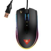GAMDIAS Zeus P1 Optical USB Ottico 12000DPI Mano destra Nero mouse