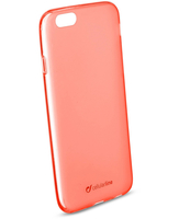 Cellularline Foggy - iPhone 6S/6 Cover semitrasparente, morbida e colorata Rosa