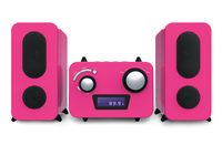 Bigben Interactive MCD11RSSTICK Home audio micro system Rosa set audio da casa