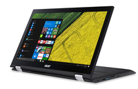 "Acer Spin SP315-51-566G 2.50GHz i5-7200U 15.6"" 1920 x 1080Pixel Touch screen Nero Ibrido (2 in 1)"
