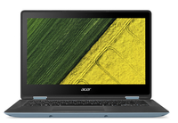 "Acer Spin SP113-31-C5ZU 1.10GHz N3450 13.3"" 1920 x 1080Pixel Touch screen Blu Ibrido (2 in 1)"
