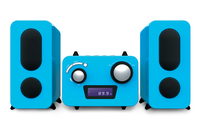 Bigben Interactive MCD11BLSTICK Home audio micro system Blu set audio da casa