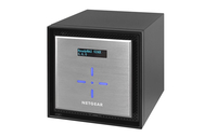 Netgear ReadyNAS 524X NAS Mini Tower Collegamento ethernet LAN Nero, Argento