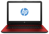 "HP 14-am053nia 1.6GHz N3060 14"" 1366 x 768Pixel Rosso Computer portatile"