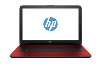 "HP 15-ay052nc 1.6GHz N3710 15.6"" 1366 x 768Pixel Rosso Computer portatile"