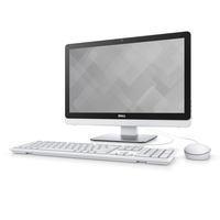 "DELL Inspiron 3263 2.3GHz i3-6100U 21.5"" 1920 x 1080Pixel Touch screen Nero, Bianco PC All-in-one"