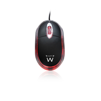MOUSE USB MINI NERO EWENT EW-3174 1000DPI