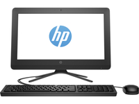 "HP 200 205 G3 1.8GHz E2-7110 19.45"" 1600 x 900Pixel Nero PC All-in-one"