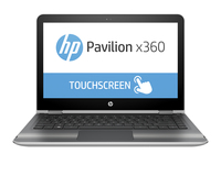 "HP Pavilion x360 13-u102la 1.6GHz N3710 13.3"" 1366 x 768Pixel Touch screen Argento Ibrido (2 in 1)"