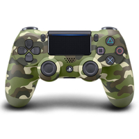 GAMEPAD PS4 SONY WIRELESS DUAL SHOCK V2 GREEN CAMOUFLAGE  9894858