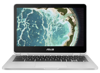 "ASUS Chromebook C302CA-DHM4 0.9GHz m3-6Y30 12.5"" 1920 x 1080Pixel Touch screen Grigio Chromebook notebook/portatile"