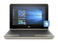 "HP Pavilion x360 11-u003nt 1.6GHz N3710 11.6"" 1366 x 768Pixel Touch screen Oro Ibrido (2 in 1)"