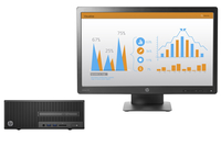 HP 280 G2 SFF + ProDisplay P232 3.7GHz i3-6100 SFF Nero PC