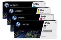 HP 508A BCMY Original LaserJet Toner Cartridges Laser cartridge Nero, Ciano, Giallo