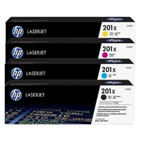 HP 201X BCMY Original LaserJet Toner Cartridges Laser cartridge Nero, Ciano, Giallo